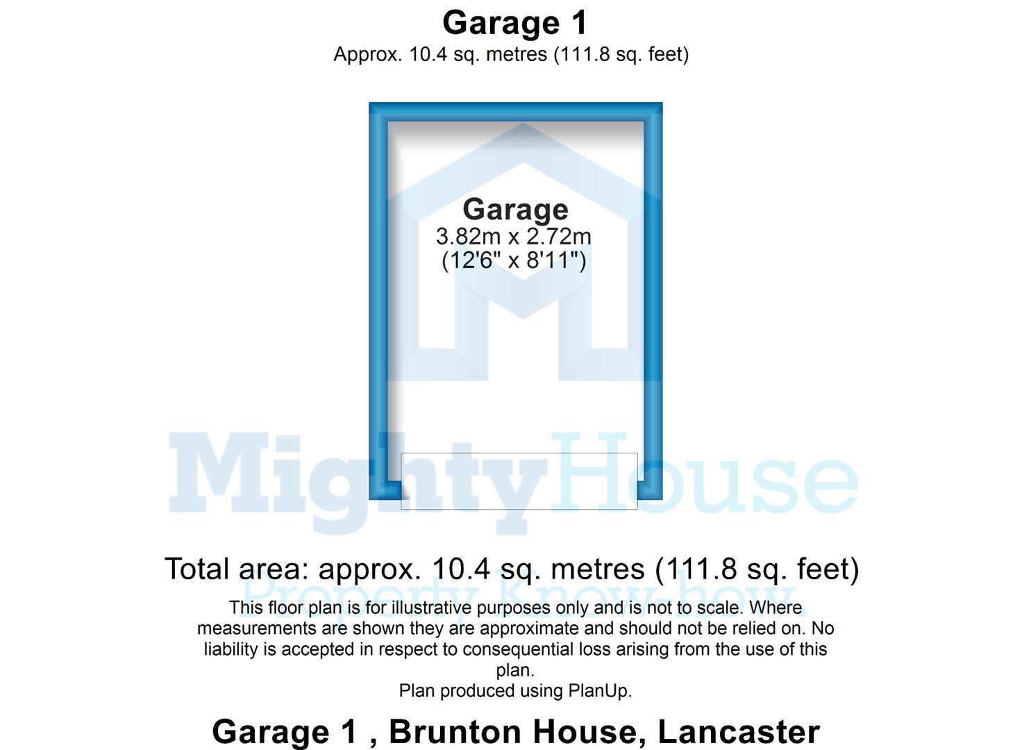 Garage 1 , Brunton House, Lancaster - 2D.JPG